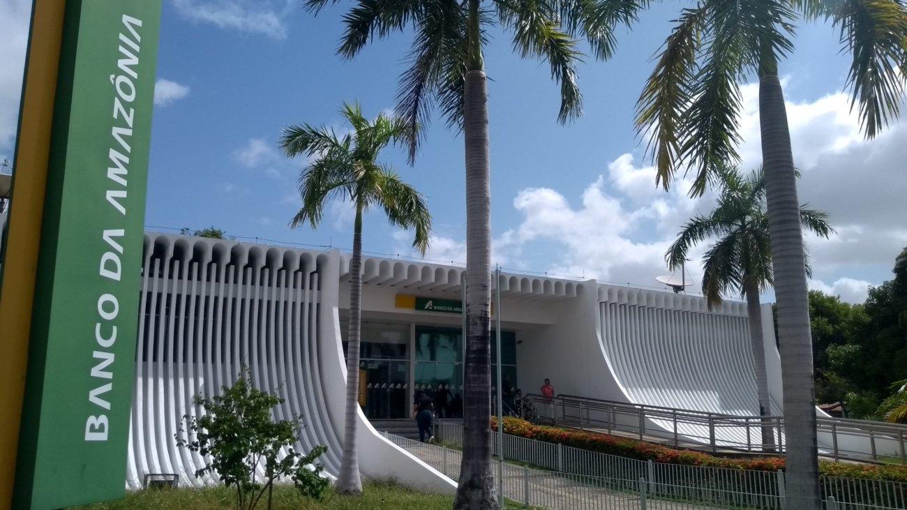 Sede do Banco da Amazônia, no Centro de Boa Vista. Foto: Ascom/Fórum de Energias Renováveis de Roraima