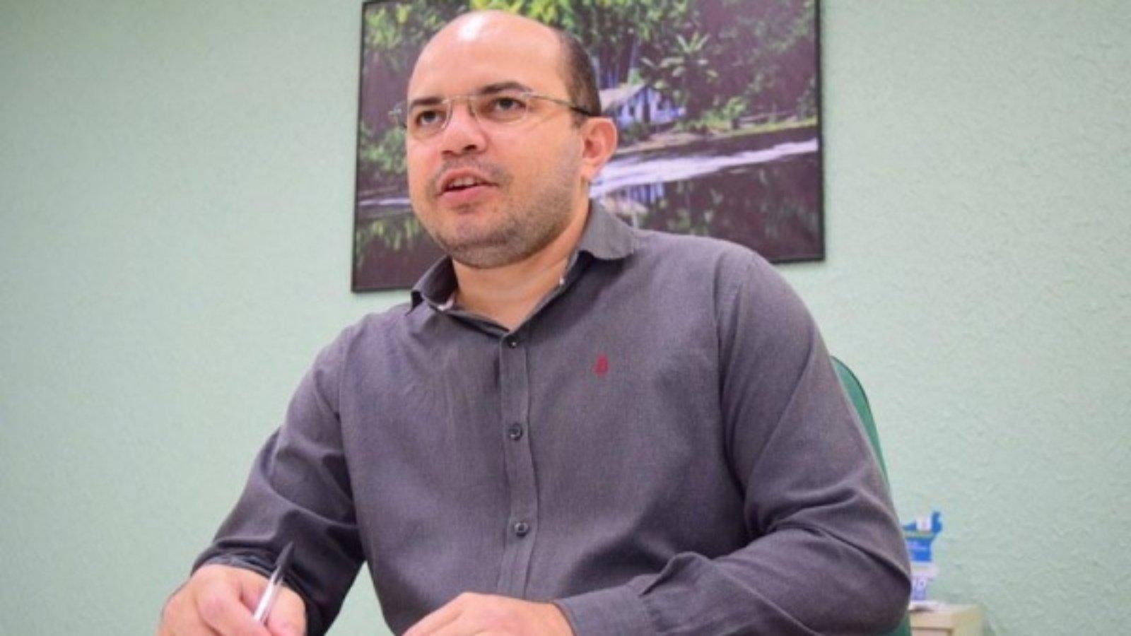 Gerente do Basa (Banco da Amazônia S.A), em Roraima, André Pereira (Foto: Diane Sampaio/FolhaBV)