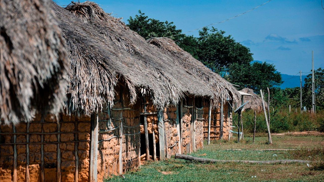 Foto: Aline Silva/ Comunidade indígena no Amajarí